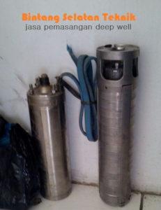 Pasang Pompa Deep well